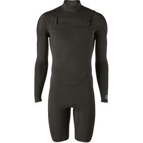 Patagonia R1 Lite Yulex Front-Zip LS Spring Suit Men black